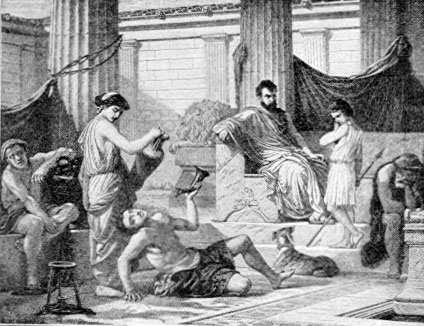 war and violence as the parts of ancient greek society Politics and women in ancient greece during the time described by the myths of ancient greece, the time just before and after the trojan war, women were involved in politics the following is from the oedipus tyrannus of sophocles, line 577 .