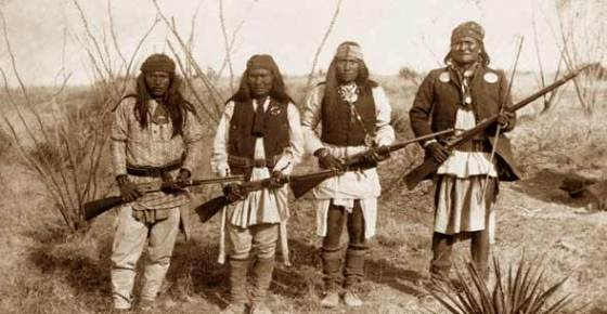 The comparions between Geronimo's Apache warriors and the Taliban of Afghanistan striking, says historian Marc Wortman.