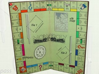 Maps, money, compasses and tools were hidden within the board and pieces of the iconic board game. The escape kist helped an estimated 10,000 Allied POWs escape from German captivity.