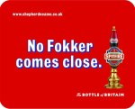 A Spitfire Ale ad.