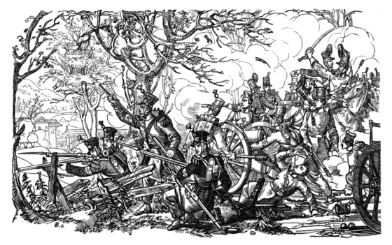 The Battle of Giskilon, Nov. 23, 1847, was the last military engagement in history for the Swiss Army.