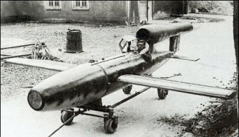 The Leonidas Squadron was trained to pilot converted V-1 rockets into Allied ships, bridges and buildings.