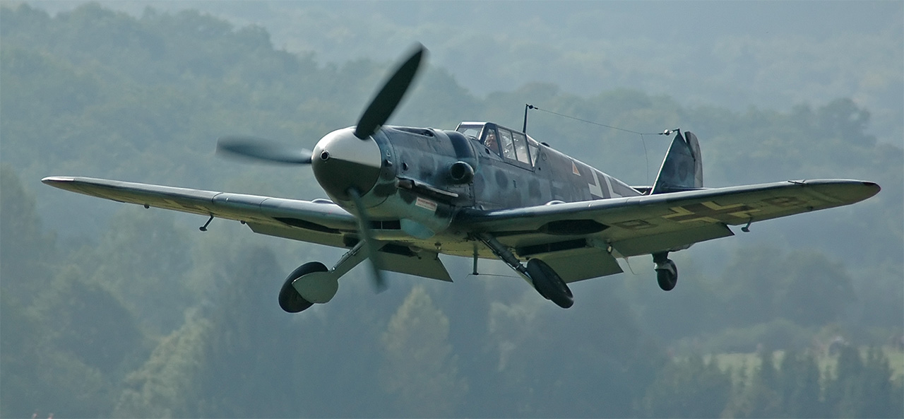 Japan wasn't the only country in World War Two to use suicide pilots. In 1945, 180 Messerschmitt fighters like this one were ordered to crash into American bombers in order to end Allied daylight bombing raids.