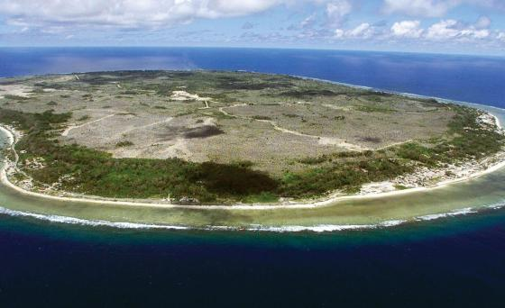 Blink and you'll miss it -- Nauru is the world's smallest island nation. In the 1870s, an influx of rowdy European sailors, modern fire arms and tribal hatred touched off a 10 year civil war.