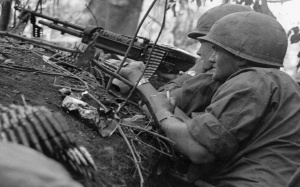 The U.S. Army tried its hand at sonic deception in Vietnam too. Click here to read about how loudspeakers and some spine-tingling recordings were used to scare the pants off the Viet Cong.