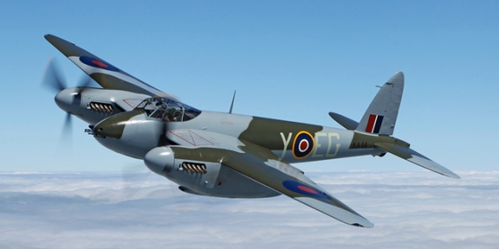 A restored de Havilland Mosquito will take to the skies next weekend in Virginia.