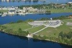 Fort Henry from above. (Photo courtesy of Parks Canada)