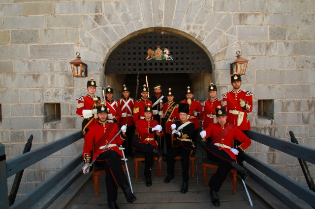 The Fort Henry Guard.